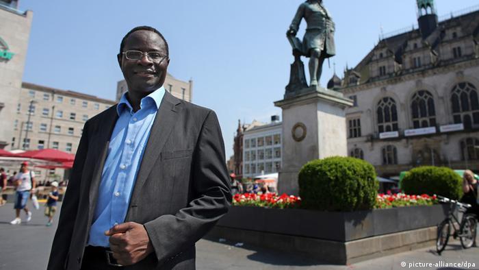 Karamba Diaby (Photo: Jan Woitas/dpa)
