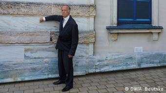 Rick Fulker at the Festspielhaus in Bayreuth. Photo: Anastassia Boutsko, DW