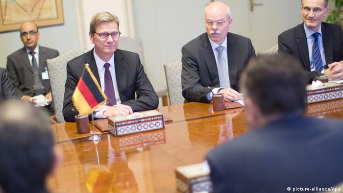 Guido Westerwelle in Ägypten 01.08.2013