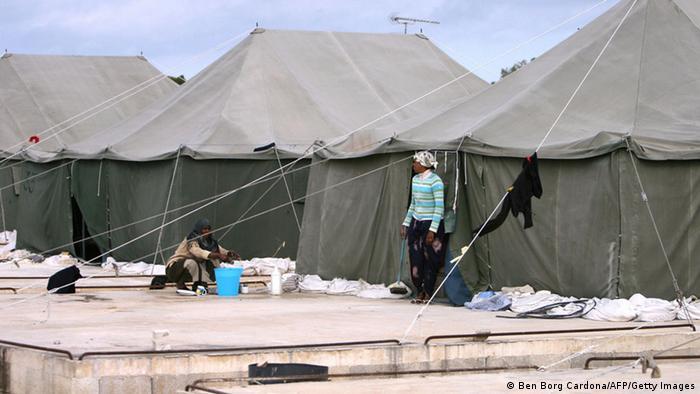 Flüchtlinge in Malta