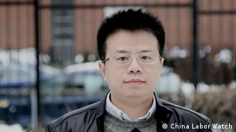 Li Qiang Geschäftsführer der Organisation China Labor Watch