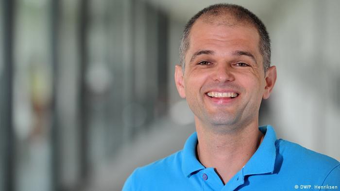 Deutschlehrer Özkan aus der Türkei