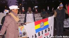 Demonstranten aus Cabinda