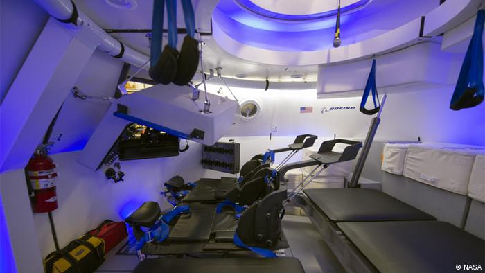 It's not the dentist office; it's the CST-100 Copyright:NASA