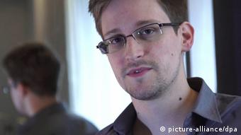 A file video grab courtesy of British The Guardian newspaper, London 10 June 2013 showing former CIA employee Edward Snowden Photo: EPA/GLENN GREENWALD / LAURA POITRAS / HANDOUT