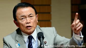 Japan Taro Aso Finanziminister 28.06.2013