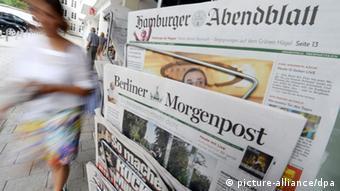 Axel Springer AG verkauft Regionalzeitungsgruppen