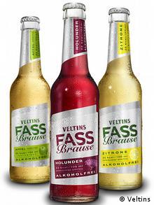 Три сорта Fassbrause компания Veltins