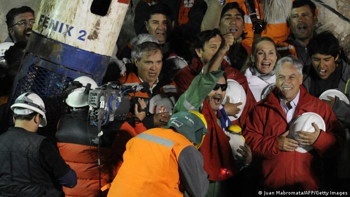 Jahresrückblick 2010 International Oktober Rettung der Bergarbeiter in Chile