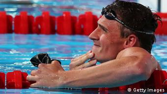 Der US-Amerikaner Ryan Lochte im Becken in Barcelona (Foto: Quinn Rooney/Getty Images)