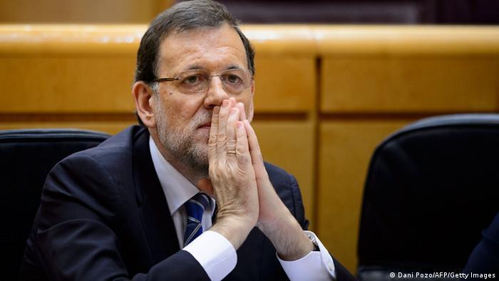 Spanien Premierminister Rajoy Parlament Finanzaffäre Schmiergeld