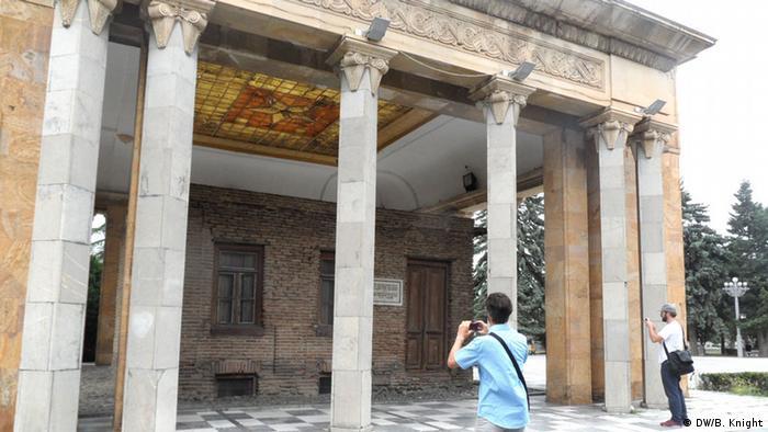 Foto: Ben Knight Datum: 17. 7. 2013 Stalins Geburtshaus, Gori, Georgien FREI FÜR SOCIAL MEDIA