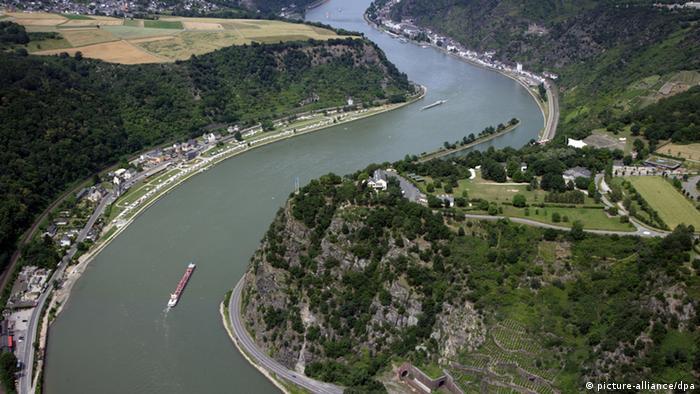 Средний Рейн. Скала Лорелей