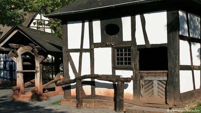 Музей под открытым небом в Коммерне
