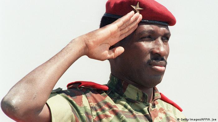 Thomas Sankara Foto: ALEXANDER JOE/AFP/GettyImages