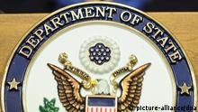 Logo USA Außenministerium State Department
