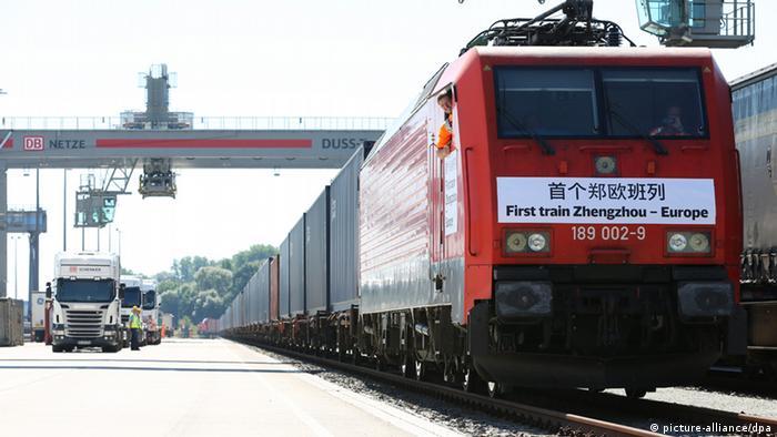 Zug China Deutschland