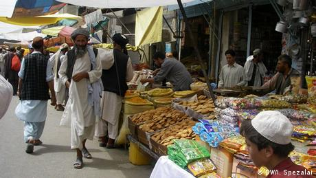 A market in Afghanistan (Photo: Mohmmad Ibarhim)