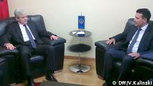 Treffen zwischen Zoran Zaev und Ali Ahmeti
