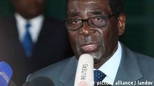 Wahl Simbabwe 2013 Präsident Mugabe