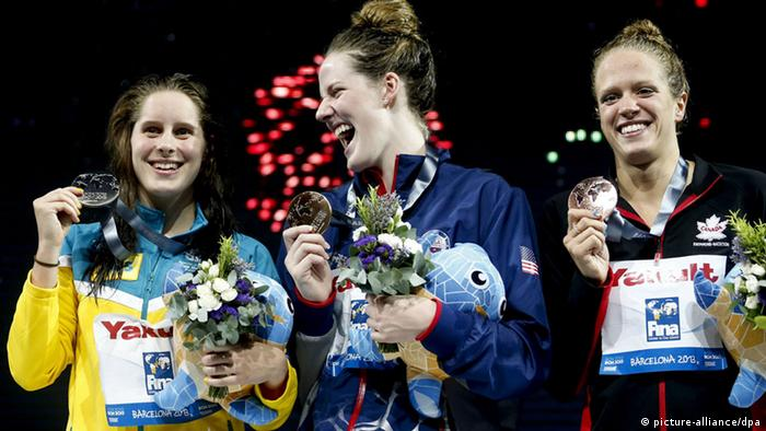 Schwimm-WM Belinda Hocking Missy Franklin Canadian Hilary Caldwell