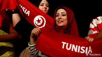 Tunis Tunesien Demonstration Islam Islamisten