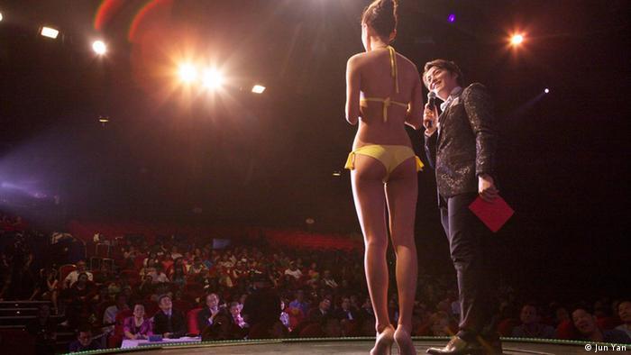 Bildergalerie Schönheitswettbewerb China Chinese Cosmos Pageant European Final 2013 Frankreich (Jun Yan)
