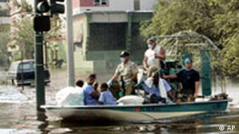 Bildgalerie 2 Hurrikan Katrina New Orleans