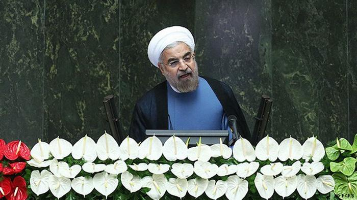 Inauguration of Hassan Rouhani in Parliament, Hassan Rouhani is an Iranian politician, Shia Mujtahid, lawyer, academic and diplomat, who is currently the president of Iran. (4 August 2013)