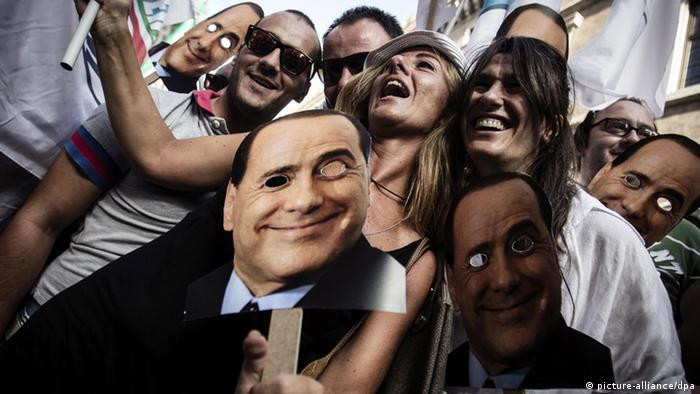 Pro Berlusconi Event in Rom