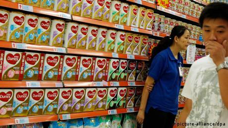 Dumex Babynahrung Babymilch Milchpulver Botulismus Bakterien (picture-alliance/dpa)