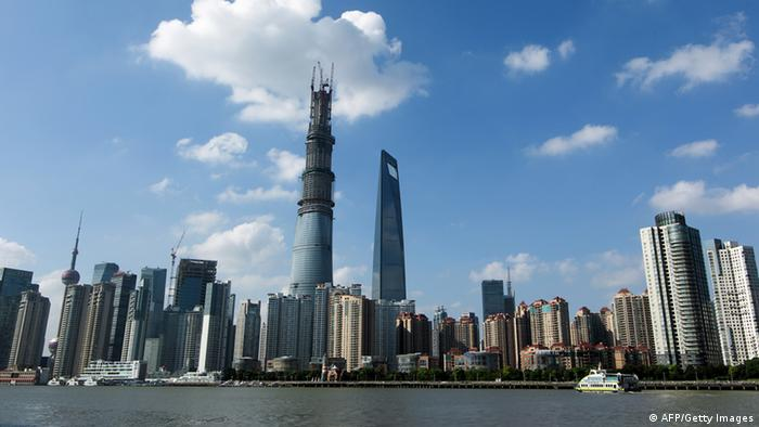 Shanghai Tower China Gebäude Turm Architektur