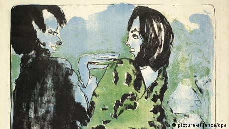 زوج جوان، اثر امیل نولده