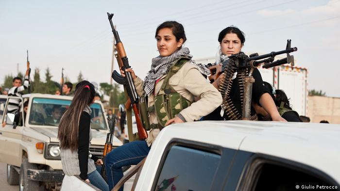 Syrian Kurds fighting for their rights Copyright : Giulio Petrocco, Erbil