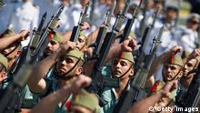Spanien Armee Militärparade in Malaga