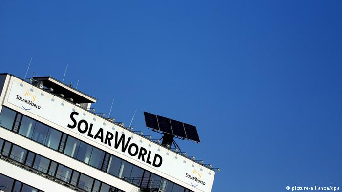 Solarmodulhersteller Solarworld (picture-alliance/dpa)