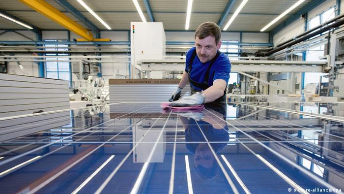 Solarmodulhersteller Solarworld AG (picture-alliance/dpa)