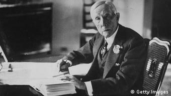 John D. Rockefeller em 1930