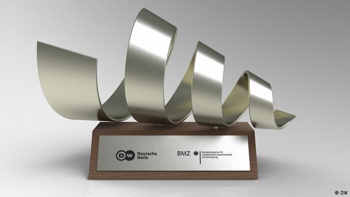 Trophähe Deutscher Medienpreis Entwicklungspolitik 2013