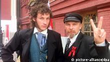 Doppelgänger Lenin Puschkin Roter Platz Moskau