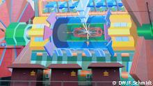 CERN: Atlas-Detektor Wandgemälde