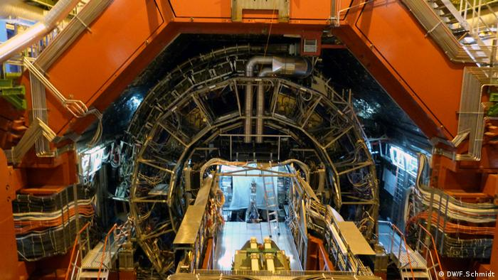 CERN: ALICE-Detektor Innenansicht (DW/F.Schmidt)
