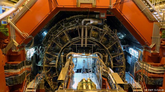 CERN: ALICE-Detektor (Photo: Fabian Schmidt, DW)