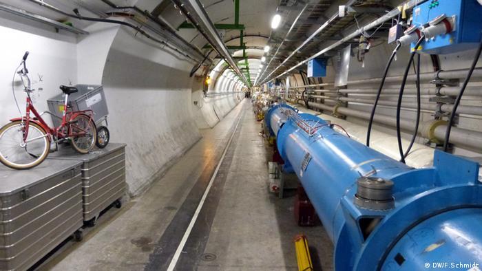 CERN: LHC Rohr