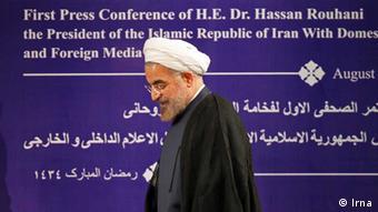 حسن روحانی میگوید که در ایران اراده سیاسی برای حل مناقشه اتمی وجود دارد