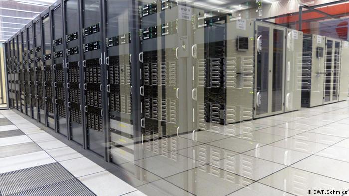 CERN: Server room Photo: Fabian Schmidt