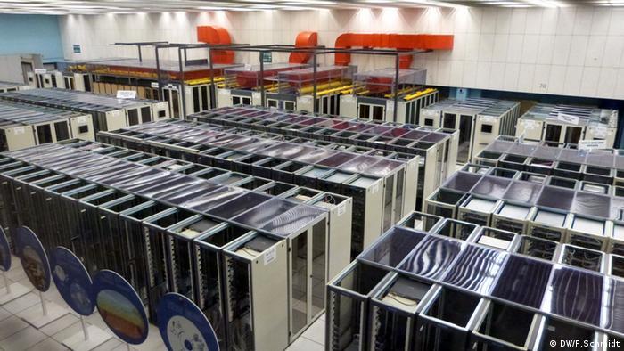 CERN: Serverraum von oben