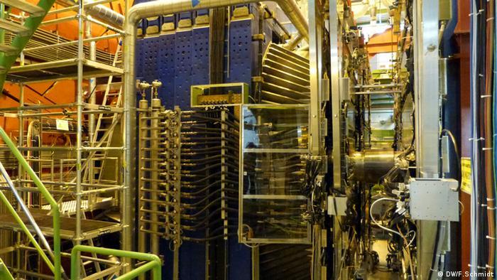 CERN: Elektromagnet des ALICE Detektors