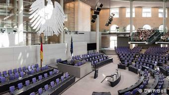 Deutscher Bundestag Innenansicht