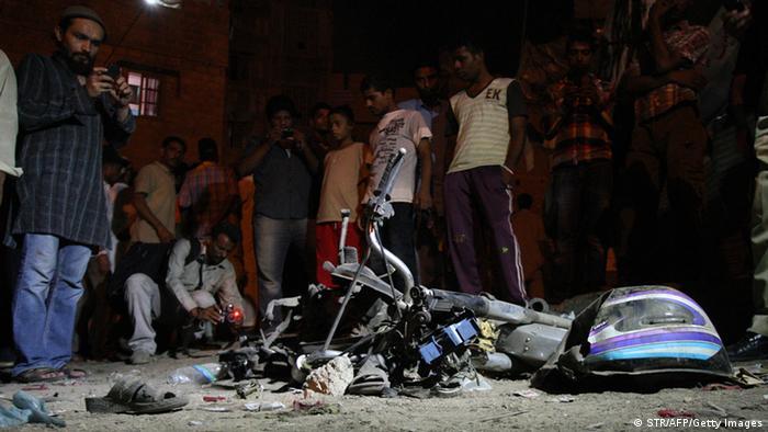 Bombenanschlag Karatschi Pakistan
